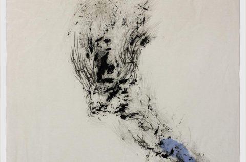 'Serie II' - tinta y grafito s/papel de arroz 0,45 x 0,30