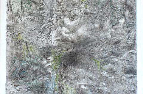 'Selva' - Técnica mixta 0,70 X 0,50